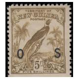 New Guinea Stamps #O23-O35 Mint HR CV $356.50