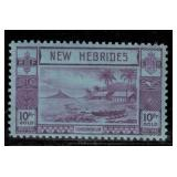 New Hebrides British Stamps #50-61 Mint HR CV $215