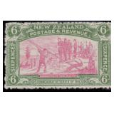 New Zealand Stamps #122-125 Mint HR CV $335