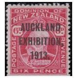 New Zealand Stamps #130e-137e Mint HR VF CV $610