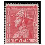 New Zealand Stamps #182-184 Mint HR VF CV $201.25