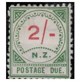 New Zealand Stamps #J1/J11 Mint HR F/VF CV $823