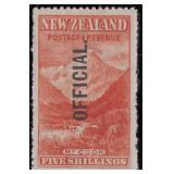 New Zealand Stamps #O23-O30 Mint HR/NH CV $1004+