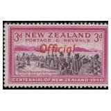 New Zealand Stamps #O76-O86 Mint NH/HR CV $175