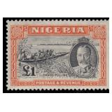 Nigeria Stamps #38-49 Mint HR VF CV $261.95