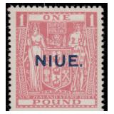 Niue Stamps #49-52 Mint HR VF CV $160