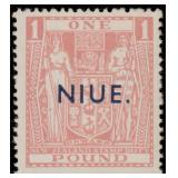 Niue Stamps #89D Mint NH F/VF CV $720