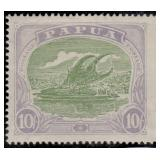 Papua Stamps #60-75 Mint HR VF CV $302