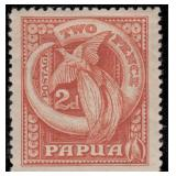Papua Stamps #94-109 Mint HR F/VF CV $640