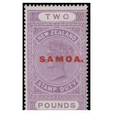 Samoa Stamps #126 Mint LH Fine CV $400