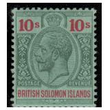 Solomon Islands Stamps #28-40 Mint HR F/VF CV $248