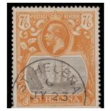 St Helena Stamps #92 Used F/VF CV $200