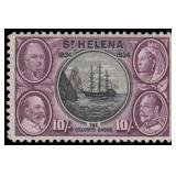 St Helena Stamps #110 Mint LH VF CV $300