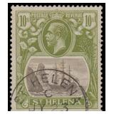 St Helena Stamps #93 Used FVF CV $250