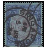 Straits Settlements Stamps #22 Used VF CV $200