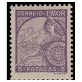Timor Stamps #202-222 Mint HR CV $285.70