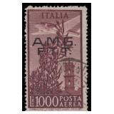 Trieste Stamps Zone A  #C16 Used Fine CV $360