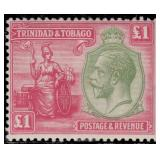 Trinidad & Tobago Stamps #21-33 Mint HR CV $212