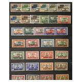 Wallis & Futuna Stamps #94-126 Mint NH/LH CV $765