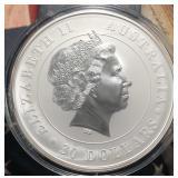WW Coins 2013 1 Kilo .999 Silver Aust. Koala