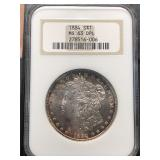 US Coins 1884 MS-63 DPL $1 Morgan Dollar