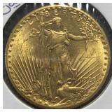US Coins 1928 $20 St. Gaudens Gold Double Eagle