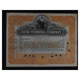US Stock Certificates x29 - Railroads Revenues etc