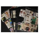 US Stamps 166 Mini-First Day Covers Ken Nelson