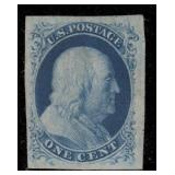 US Stamps #8 Mint No Gum VF/XF with Cert CV $7500