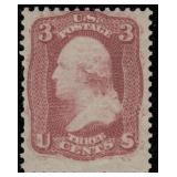 US Stamps #56 (65-E15h) Mint LH Fine CV $550