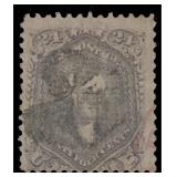 US Stamps #99 Used Fine F-Grill CV $1700