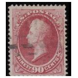 US Stamps #155 Used F/VF CV $325