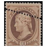 US Stamps #209 Mint NH Fine perf EFO CV $475