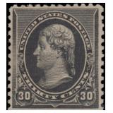 US Stamps #228 Mint LH VF with sm thin CV $280