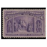 US Stamps #235 Mint LH XF-S 95 PSE cert SMQ $280