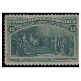 US Stamps #238 Mint OG VF/XF 85 PSE cert SMQ $295