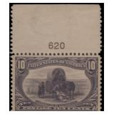 US Stamps #290 Mint LH XF 90 PSE cert SMQ $290