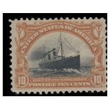 US Stamps #294-299 Mint OG CV $381