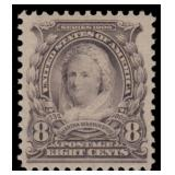 US Stamps #306 Mint NH VF/XF 85 PSE cert SMQ $155