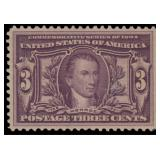 US Stamps #325 Mint NH VF 80 PSE cert SMQ $190