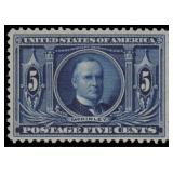 US Stamps #326 Mint NH PSE cert CV $180