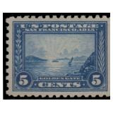 US Stamps #403 Mint NH XF-S 95 PSE cert SMQ $1600