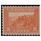 US Stamps #404 Mint NH VF Reperf PSE cert CV $1600