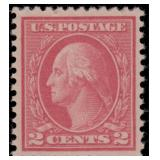 US Stamps #500 Mint NH VF with Cert CV $550