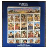 US Stamps #2870 Legends of the West Recall CV $190
