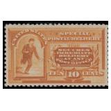 US Stamps #E3 Mint HR VF CV $300
