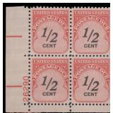 US Stamps #J88 Mint NH Plate Block of 4 CV $120