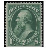 US Stamps #O61 Mint DG VF CV $290