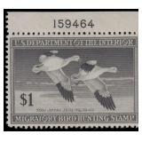 US Stamps #RW12-RW14 Mint NH VF+ Ducks CV $200
