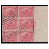 US Stamps #548-549 Used F/VF Plate Blocks of 6